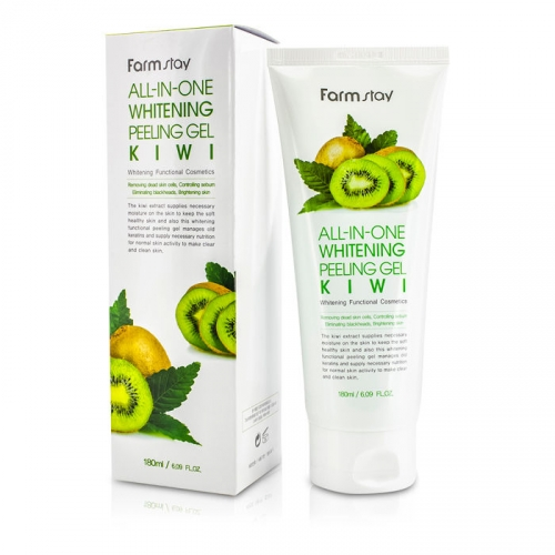 ALL-IN-ONE WHITENING PEELING GEL - KIWI